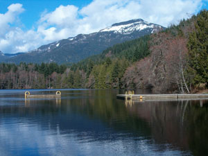 Alice Lake near Squamish BC